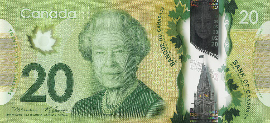 20 Canadian Dollars - Currencies of the World